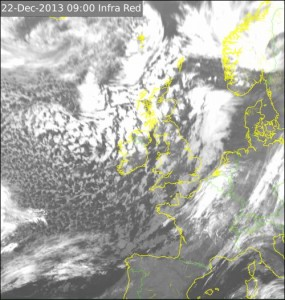 Satellite Weather Map Ireland