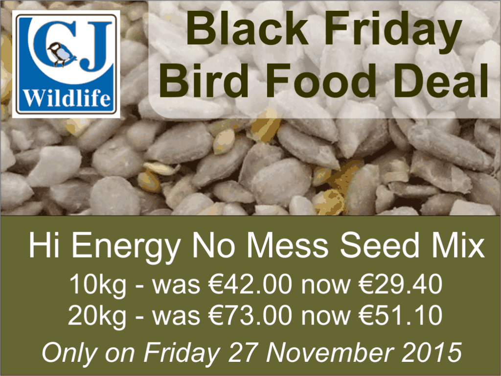 Black Friday Bird Food Deal